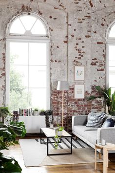 The loft has a fresh, bright, casual and eclectic look we love!