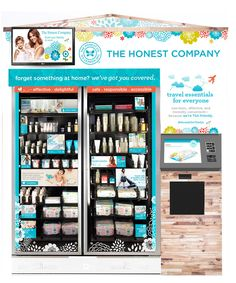 Beauty Vending Machine Kiosks at the Airport | InStyle.com