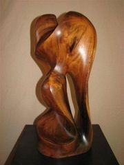 Meditation - Ohai wood   - for more info on Maui artist, Steve Turnbull visit: www.lahainagalleries.com or call 808-661-6284
