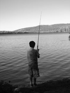 Ryland fishing last summer