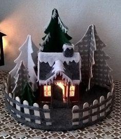 Christmas Projects, Christmas Home, Christmas Ornaments, Fairy Garden Pots, Advent Wreath, Felt Ornaments, Felt Crafts, Sewing Crafts, Christmas Decorating Ideas
