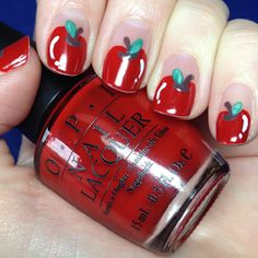 The Nail Trail: Big Apple(s) Red!