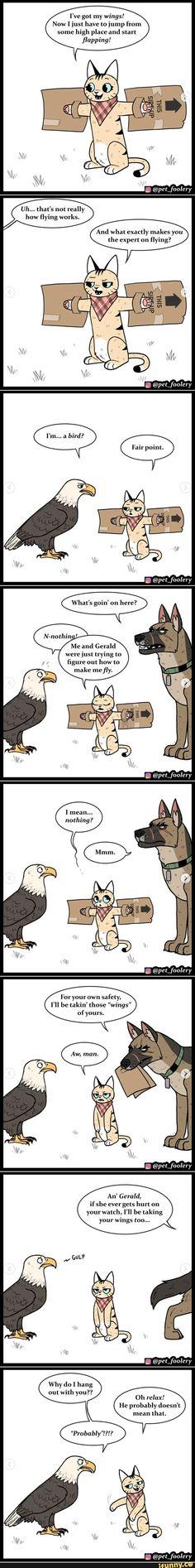 Funny Animal Comics, Animal Jokes, Cute Comics, Funny Animal Memes, Stupid Funny Memes, Funny Comics, Funny Animals, Cute Animals, Cute Funny Cartoons