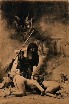 Satanic Lesbian BDSM