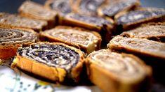 """Klasszikus bejgli """"Marcsisan"""" - Borbás Marcsi szakácskönyve Cookies, Cake, Desserts, Food, Crack Crackers, Tailgate Desserts, Deserts, Food Cakes, Eten"""