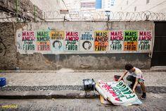 Home - Ygor Marotta Social Art, Wonderwall, Street Art, Fair Grounds, Poster, Diy, Design, Quotes, Urban Intervention