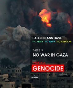 Its not a war its a genocide :(