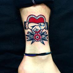 x DANI QUEIPO x, ❤️❤️ #LONDON #sevendoorstattoo #bricklane #tattoo...