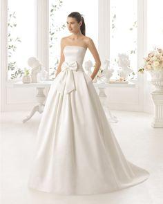 CIEL vestido de novia Aire Barcelona 2017