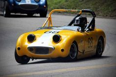 The Ten Best Street Cars for Drag Racing - 6. Austin-Healey Sprite