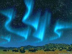 Blue Aurora Borealis | You can find Buffalo Blue Aurora Borealis wallpapers in…