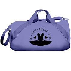 Eat. sleep, dance. | Custom dance bag.