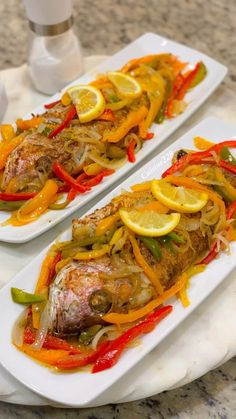 Fish escabeche - New Ideas Fish Recipes Jamaican, Jamaican Dishes, Haitian Food Recipes, Easy Fish Recipes, Haitian Fish Recipe, Jamaican Steam Fish Recipe, Jerk Fish Recipe, Jamaican Escovitch Fish Recipe, Fish Dishes