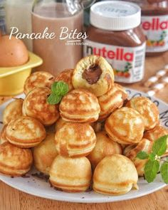 Easy Salad Recipes, Snack Recipes, Dessert Recipes, Cooking Recipes, Snacks, Brownie Desserts, Coconut Dessert, Pancake Bites, Marble Cake Recipes