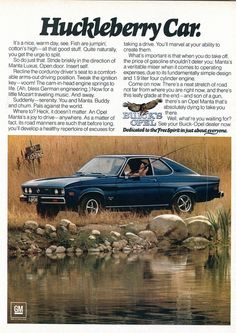 1974 Buick Opel Advertising Road & Track November 1974 | Flickr - Photo Sharing!