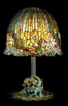 Louis Comfort Tiffany was born in 1848 the son of a prominent New York jeweler.