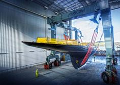 Pendennis Shipyard Falmouth·  Pendennis has the capabilities of building custom build megayachts as well as the refit, remodel, etc
