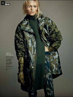 Anja Rubik by Nico for L'Express Styles Sept 2014