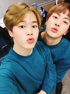 BTS Jin, Jimin