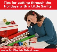How do you get through the holidays without feeling exhausted, drained, frustrated and sad?https://www.bioelectricshield.com/in-the-media/health-stress-a-non-emf-news/258-how-can-you-get-through-the-holidays-with-more-ease.html 20% offall BioElectric Shields thru 12-31 code Winter20 #HSP #Empath #HighlySensitivePerson #EnergyProtection #Quiz #Tips #BioElectricShield #BioElectric Shield