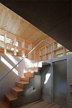 + #wood #concrete #built_in