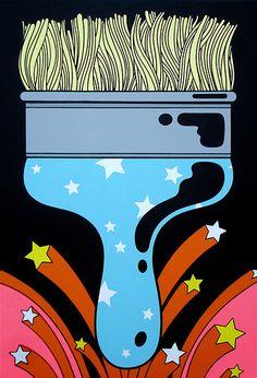 Artwork by Oliver Hibert.