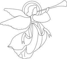 christmas angel coloring pages bing images