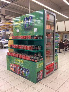 Great placement for Sprite with fridge