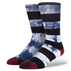 These are soooo righteous!!!! £12.99 Stance Socks   Mens   Tie Dye Stripe #christmasgifts #giftforhim #stockingfiller
