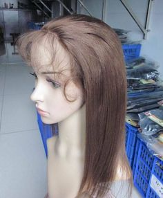 Free Ship Glueless Lace Front Wig Brazilian Human Hair Brown Yaki Brown #4 Hair | Health & Beauty, Hair Care & Styling, Hair Extensions & Wigs | eBay!
