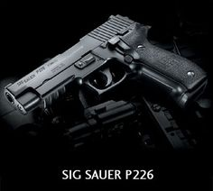 Sig Sauer P226 - The choice of the Navy Seals.  @Sportsman's Outdoor Superstore