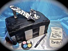 Fashionista cake!