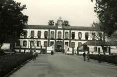 1960. Fachada Hospital Civil de Malaga. Es29072ADPM LC 27-1-14