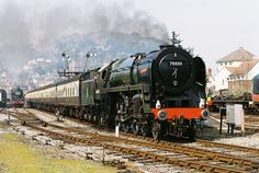 /by OG47 #flickr #steam #engine #Britannia