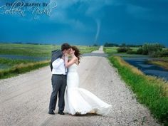 Photography for courtney lynn's wedding!!!!    Tornado becomes 'lifetime moment' in wedding photos - GrindTV.com