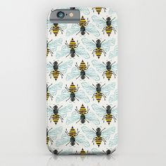 Buy Honey Bee by Cat Coquillette as a high quality iPhone & iPod Case. Worldwide shipping available at Society6.com. Just one of millions of products…