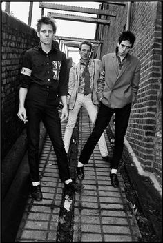 The Clash en blanco y negro