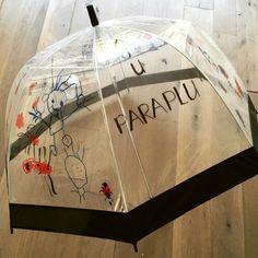Aju paraplu bedankje - afscheid van juf of meester