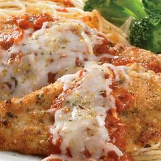 Chicken Parmesan: This 8-ingredient recipe is ready in under 30 minutes! An affordable twist on the classic Chicken Parm!
