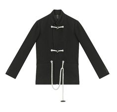"""Dior Homme reinterpreted the duffle coat for the 4th part of the """"Les Essentiels"""" collection."""