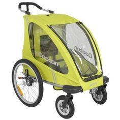 supposed to be a great jogging / bike trailer convertible stroller $500
