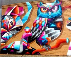 "New York City Boroughs ~ Brooklyn | Part of ""Writing on the Walls"" in Brownsville, by BK Foxx"