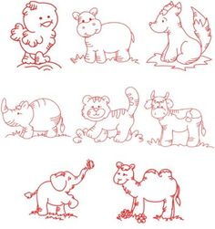 Redwork Embroidery Patterns Pictures