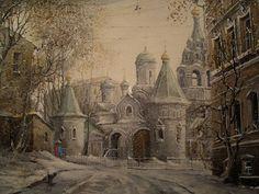 Painting by Russian Artist Alexander Starodubov