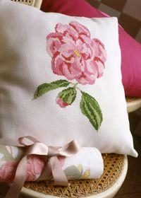 Carnation cross stitch