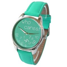 Watch Who cares. Unisex Watch for Men and Women. от ArinaDeco