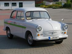 Trabant 600, suosikkiauto :) Tällaista ajoin Unkarissa v. 2010