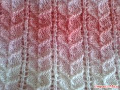Ribbed Heart Knitting Stitch Pattern Chart! More great patterns like this: Eyelet Columns Knitting Stitch Scarf with interesting stitch ribbed Lace Ribbing Simple – Free Knitting Stitch 8 Ribbed Lace Knitting Stitches