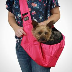 20 Smart and Stylish Pet Carriers via Brit + Co. Outward Hound Sling Pet Carrier