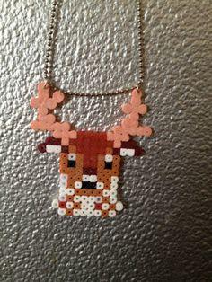 hama perler beads Deer
